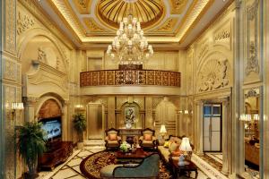 350㎡别墅装修,欧式风格尽显贵族气质