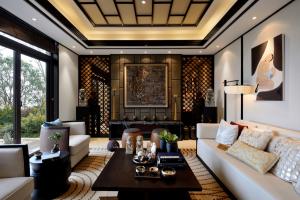 风靡全球的中式风格,如何在280㎡别墅中体现
