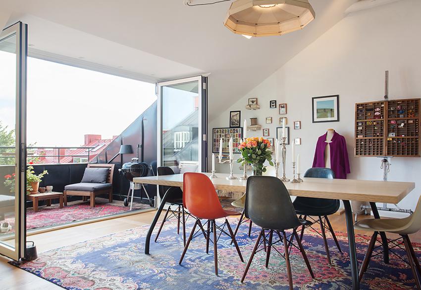 瑞典35坪低收纳公寓装修效果图