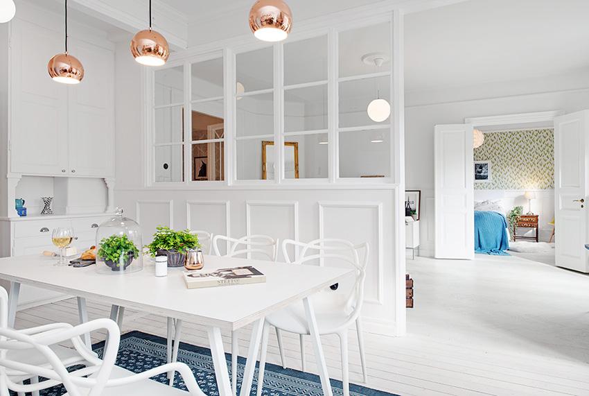 瑞典28 坪超透光隔间公寓