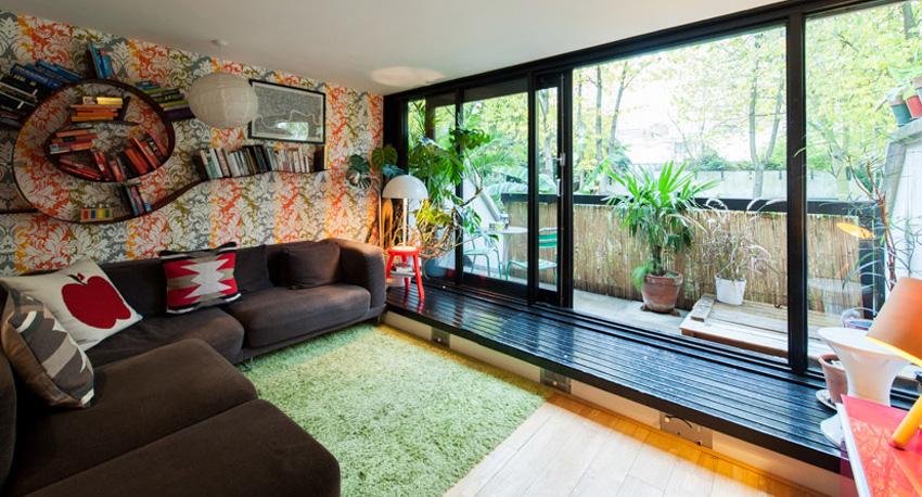 伦敦25 坪连栋透天屋改造装修效果图