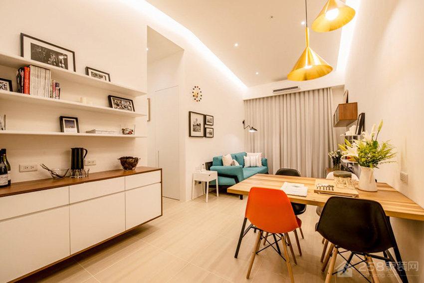 台北13 坪单身女子公寓装修效果图
