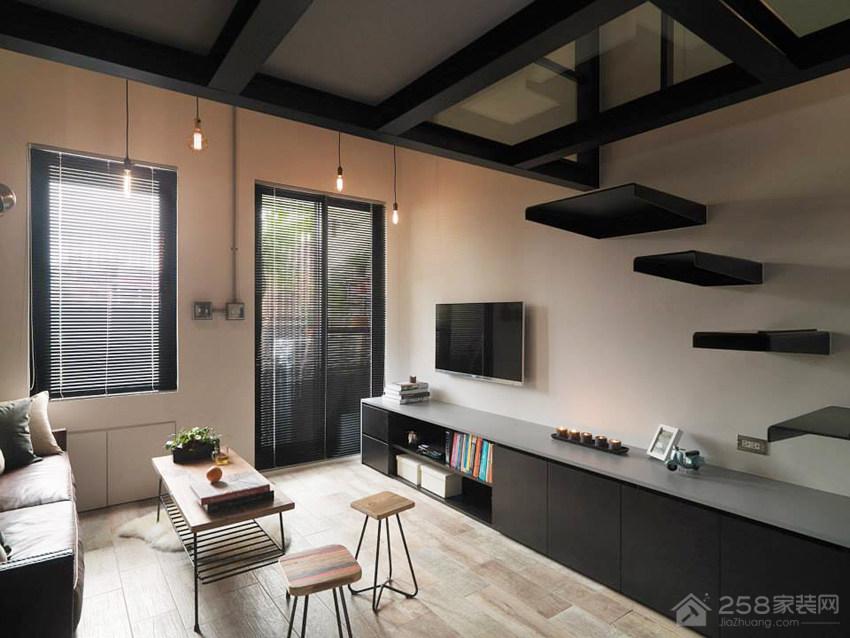 台北7 坪轻工业单身公寓装修效果图