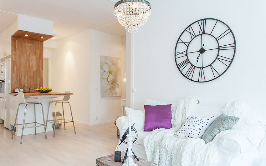 客厅现代水晶吊灯效果图
