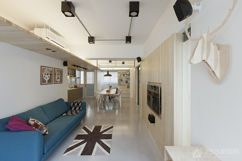 客厅欧式布艺沙发效果图