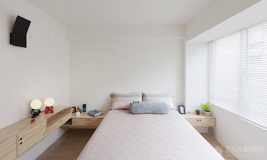 精致卧室欧式双人床图片