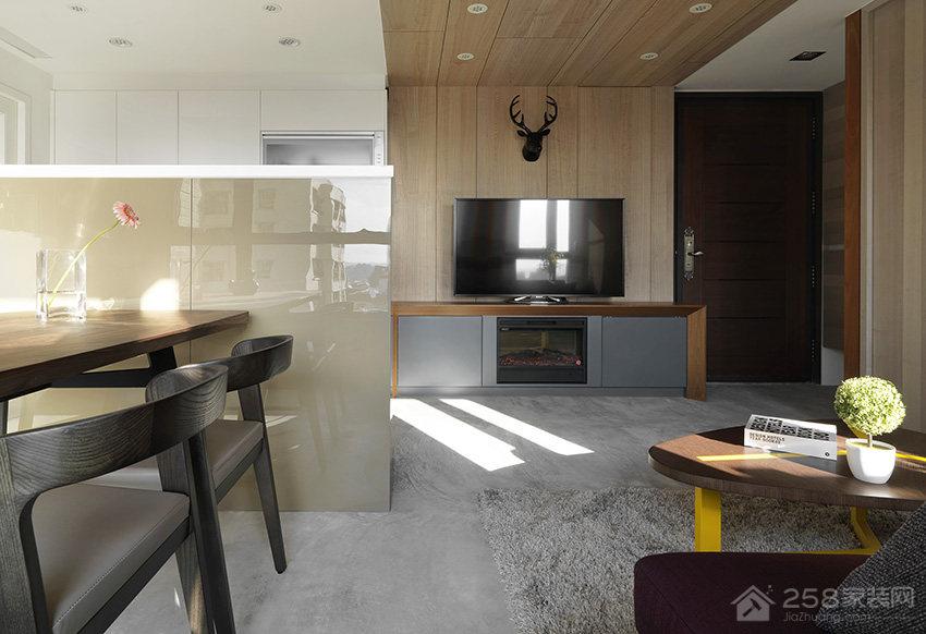 台北15坪现代风公寓装修效果图