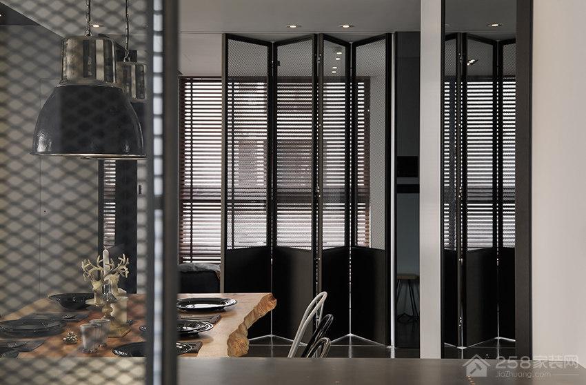 内湖41 坪现代工业风公寓装修效果图