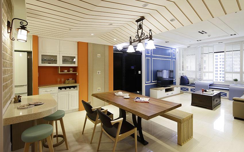 多重混搭风格的理想室内装修效果图