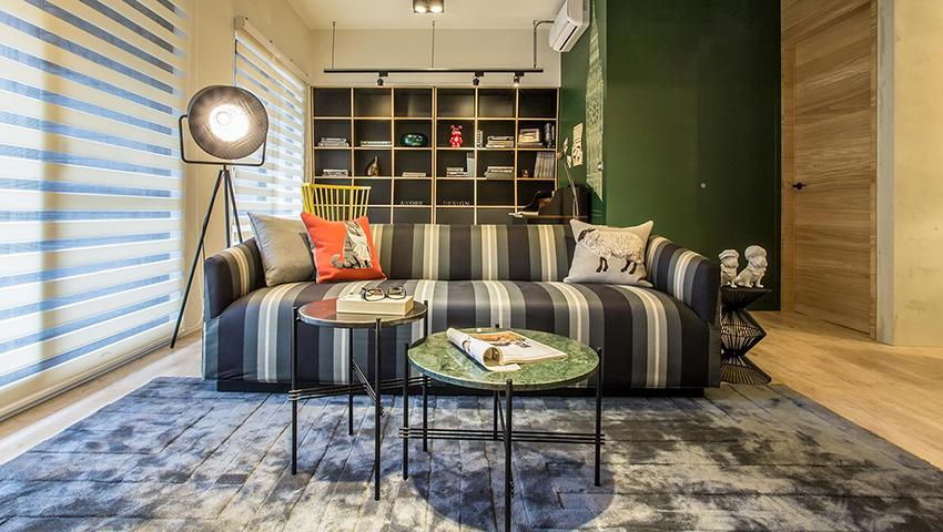 台北30 坪温柔复古英式公寓装修效果图