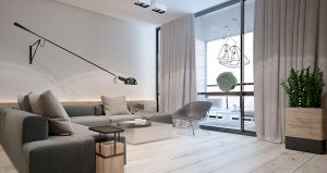 现代简洁风公寓装修