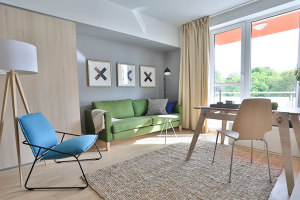 北欧风收纳功能小户型公寓