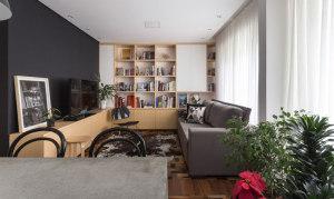 混搭元素小户型公寓