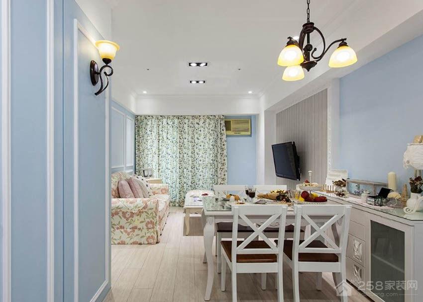 餐厅白色家庭餐桌图片