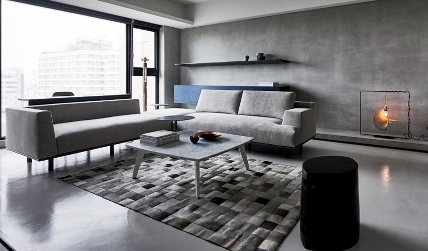 宁静灰创造现代感公寓装修效果图