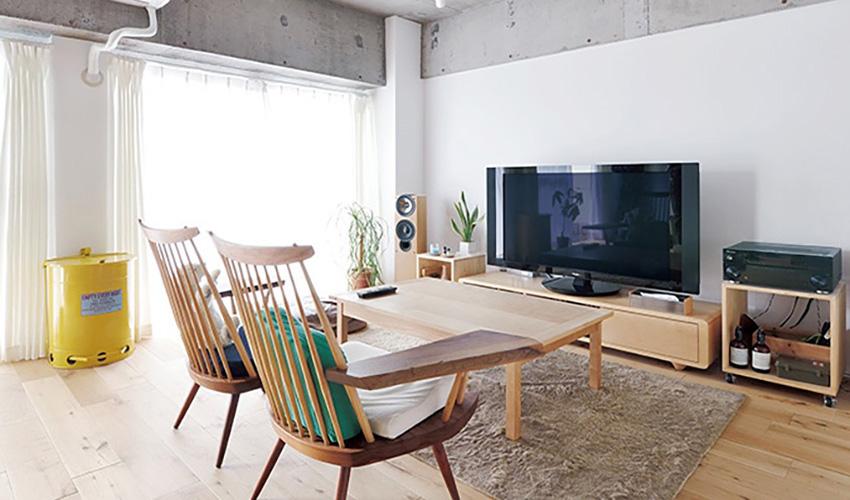 日本18坪新婚宅装修效果图