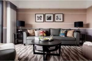 美式风格居家精美装修 100平老房改造简约风