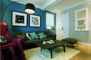 美式风格精美家装效果图 用色彩为空间定位