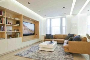 客厅电视柜高度是多少,电视柜标准尺寸集锦
