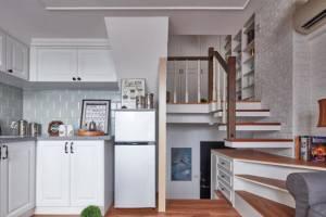 33平小户型家装设计,美式风格魔法蜕变