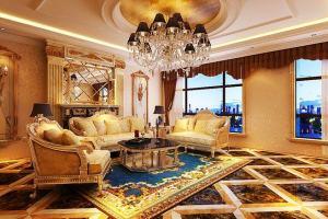 中式家具遇上欧式装修风格,释放体内的洪荒之力!