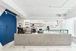 法式甜品店精美设计,空间产生奇妙的化学反应