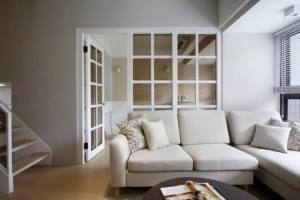 小夹层大空间!66平美式风格甜蜜住宅