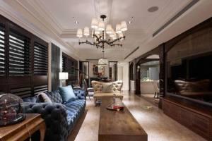 高级定制美式风格精美装修,爱上时尚潮流住宅
