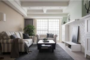 美式风格巧搭工业元素,115平旧房改造大逆转