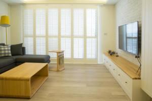 72平小户型乡村风格装修,小家庭的空间收纳设计