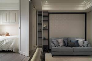 40平小户型空间创意设计,打造美式风格小皇宫