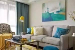 契合—90㎡二居美式风格家居设计