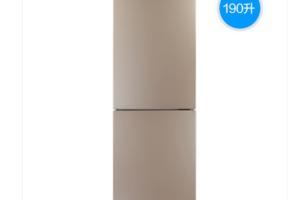 美的BCD-190CM(E)双开门冰箱