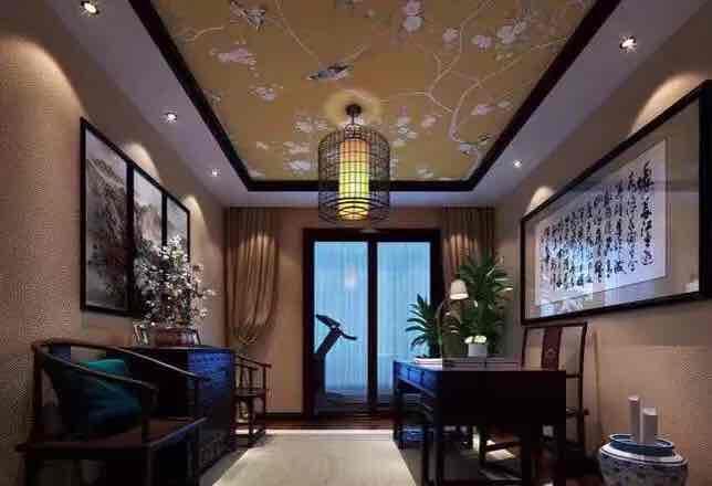 印象外滩中式风格三居装修效果图