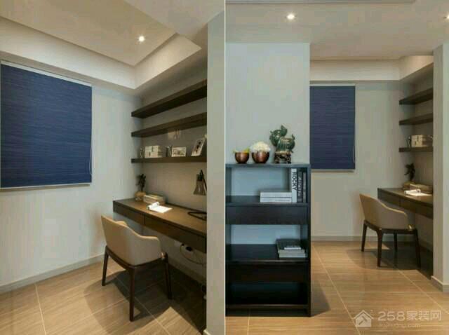湘熙水郡现代简约三室两厅装修效果图