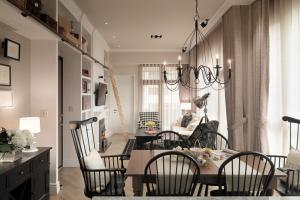 78平米法式风格单身女子公寓案例!