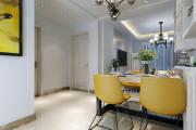 联谊小区,80平温馨两居室现代简约装修效果图