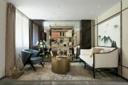 金榭巴黎越层中式四居装修效果图