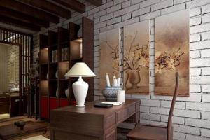 中式书房怎样装修设计才更好看?提供装修图案例赏析!