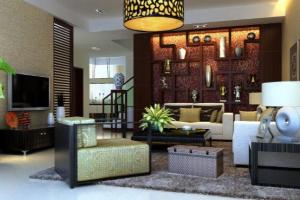 20平客厅选中式风格好吗?20平中式客厅装修注意事项