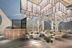 现代风格售楼部设计
