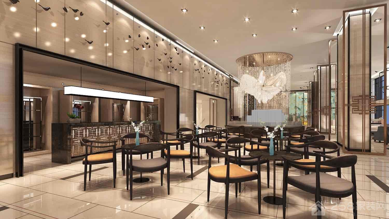 新中式售楼部设计