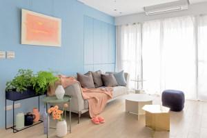 125平米现代法式公寓,极具当代风格的混搭寓所