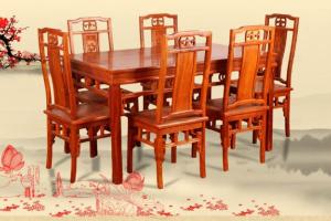 红木餐桌种类有哪些?红木餐桌优缺点介绍