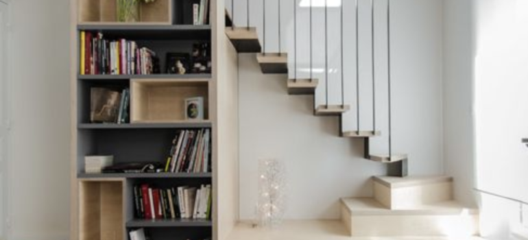 家中有哪些闲置的地方适合装修成书柜