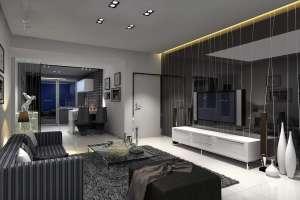 玻璃电视背景墙的清洁与与保养