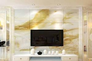 天然人造石电视背景墙的清洁与保养