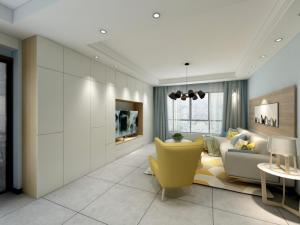 南开华府两室一厅设计方案
