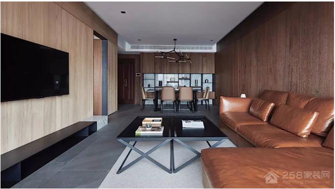 120㎡现代简约,充满木质感的自然之家!