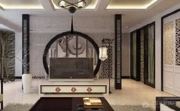 95平房屋如何装修?95平中式风格装饰效果图